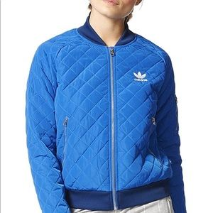 Adidas Quilted Track Jacket